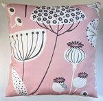 Cushion Cover in Next Pink Seed Pod 16""